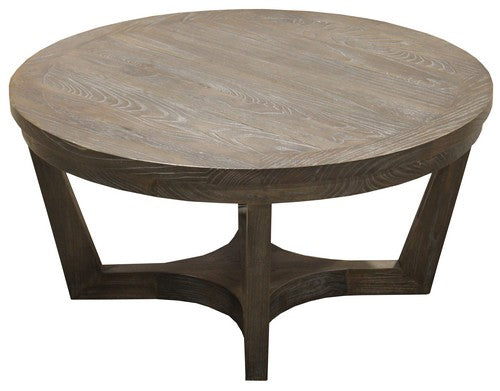 EATON COFFEE TABLE - ELM / CHARCOAL