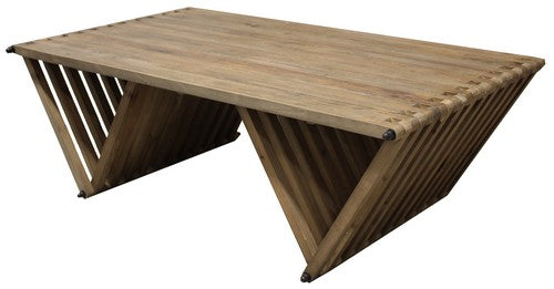 MORROCO COFFEE TABLE - RECLAIMED ELM
