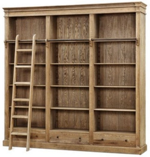 XL BOOKCASE W / ADJUSTABLE SHELVES - ASH