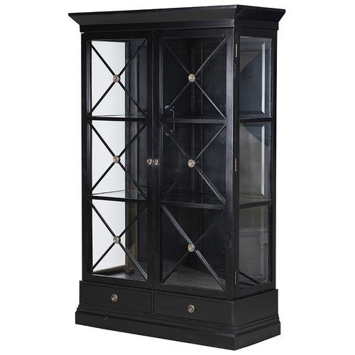 CHATEAU WALL UNIT - BLACK POPLAR / BLACK CROSS