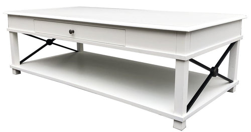 CHATEAU COFFEE TABLE - WHITE
