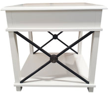 Load image into Gallery viewer, CHATEAU LAMP TABLE - WHITE