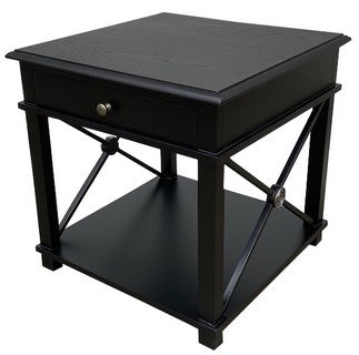 Chateau Lamp Table Black
