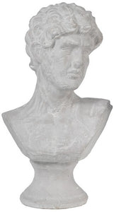 CERAMIC BUST MALE HEAD - LARGE
