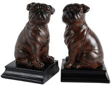 Load image into Gallery viewer, BULLDOG BOOKENDS S/2