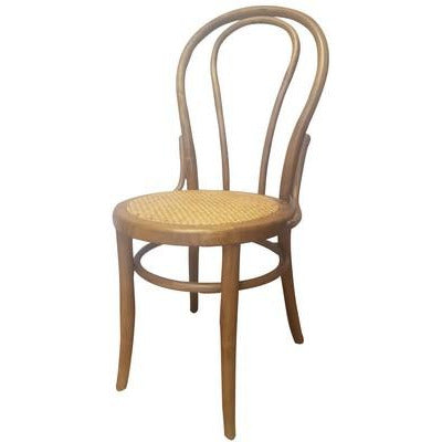 VIENNA BENTWOOD DINING CHAIR - ANTIQUE OAK - Luxe Living