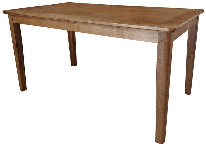 COLUMBIA BIRCH BAR HEIGHT DINING TABLE - ANTIQUE BROWN BIRCH