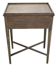Load image into Gallery viewer, BORDEAUX BEDSIDE TABLE - WASHED ASH