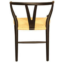 Load image into Gallery viewer, WISHBONE DINING CHAIR - ANTIQUE BLACK - Luxe Living