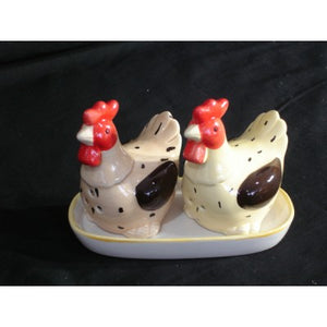 SALT & PEPPER SHAKERS CHICKENS