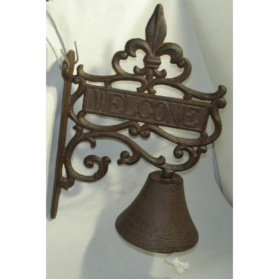 Cast Iron Bell Welcome