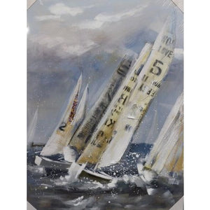CANVAS SAILING BOATS - Luxe Living