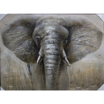 CANVAS ELEPHANT - Luxe Living
