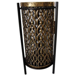 ORNATE CANDLE HOLDER - SMALL - Luxe Living