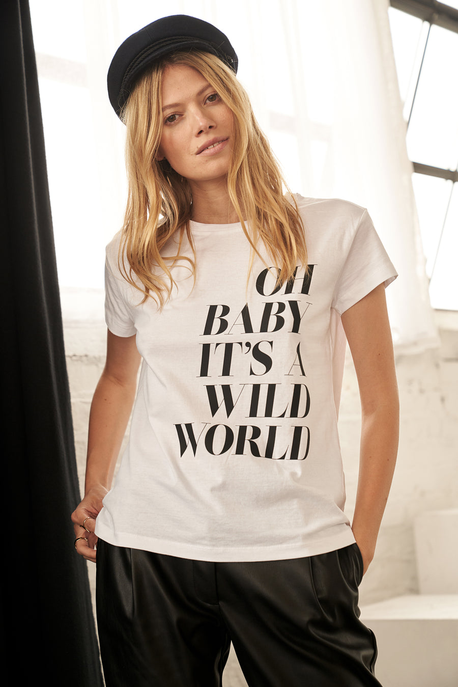 Wild World Print T-Shirt