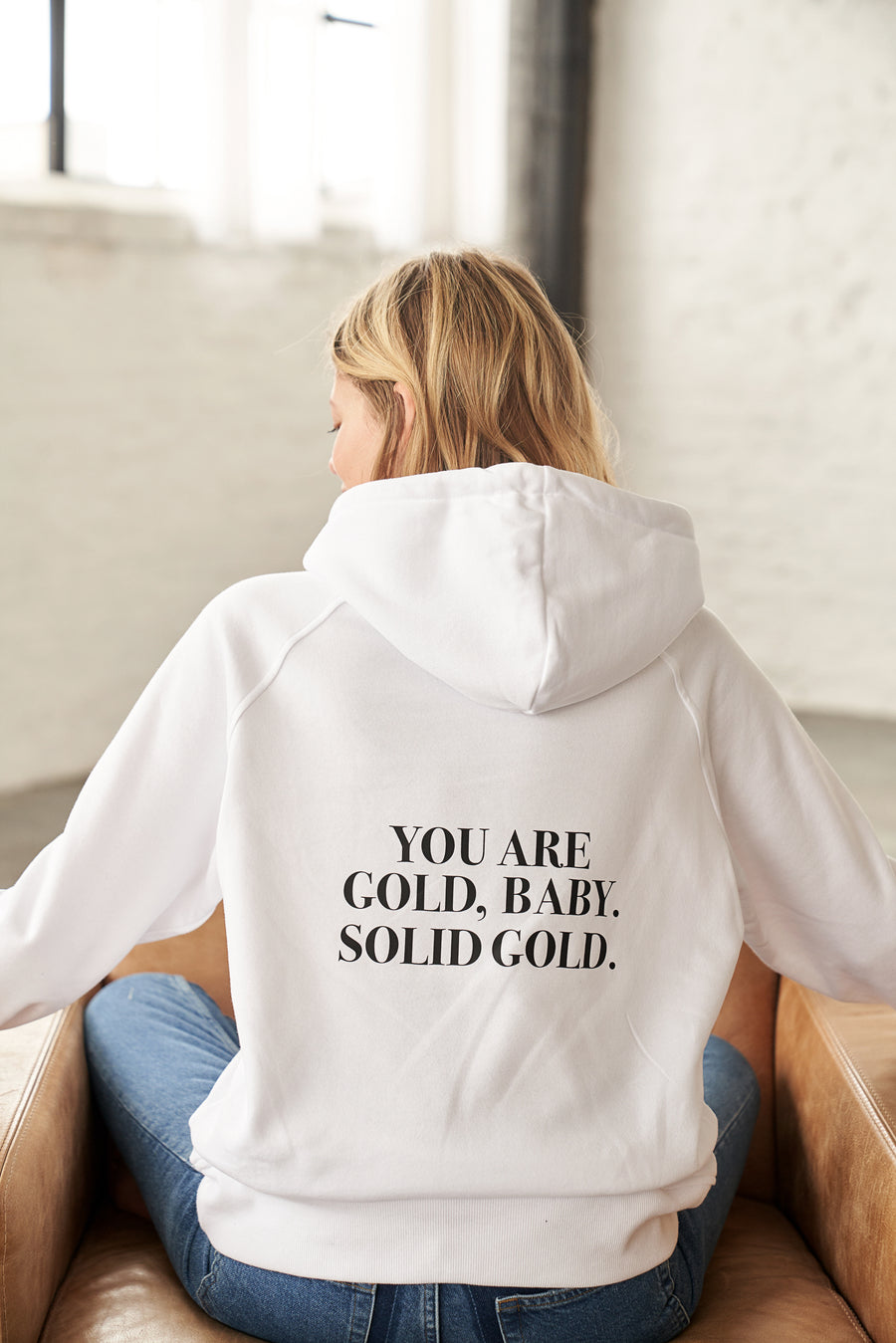 Solid Gold Hoodie