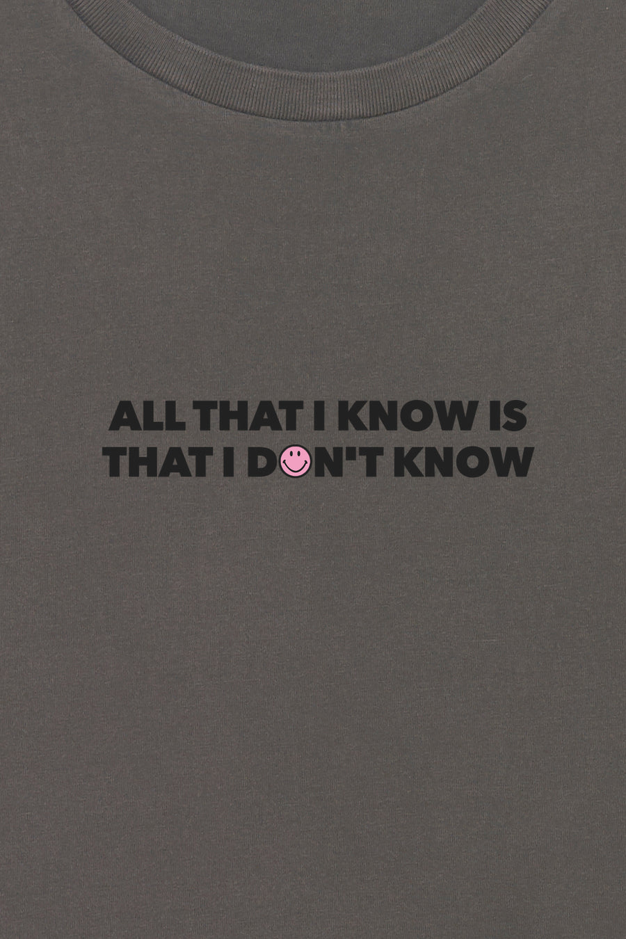 I Don´t Know Smiley T-Shirt