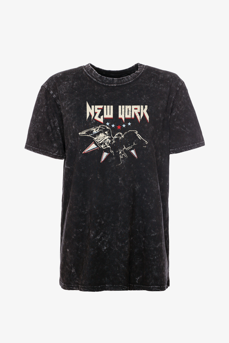 Gossengold - New York Vintage T Shirt Women - Black