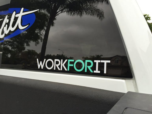 WORKFORIT Decal