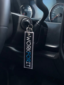 Blue Collar Bred WORKFORIT Keytag