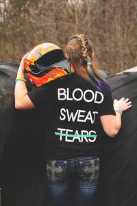 Blood, Sweat, Tears Fitted T-Shirt