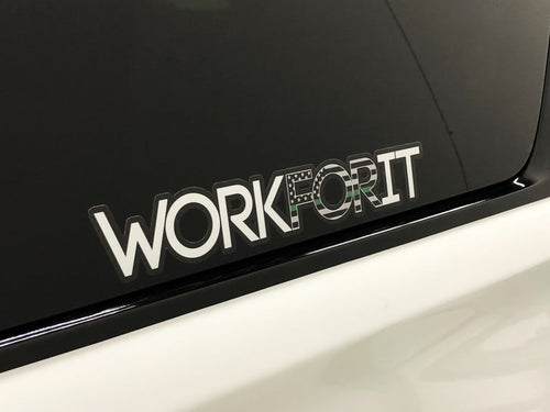 Thin Green Line WORKFORIT Decal