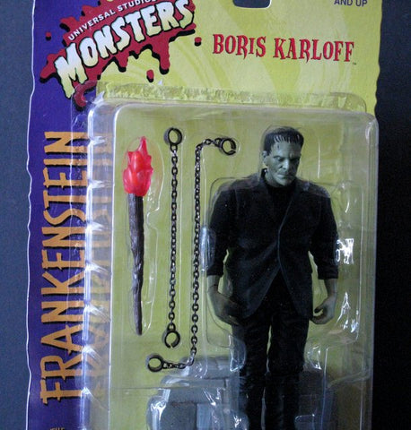 "Boris Karloff Frankenstein 8"" Action Figure"