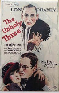 The Unholy Three One Sheet