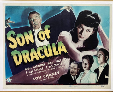 Son of Dracula Title Card