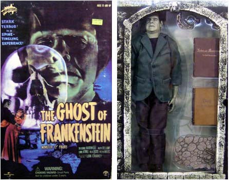 "Ghost of Frankenstein 12"" Action Figure"