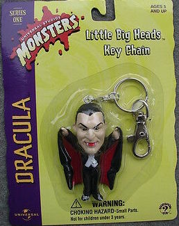 Dracula Little Big Head Keychain