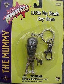 The Mummy Little Big Head Keychain