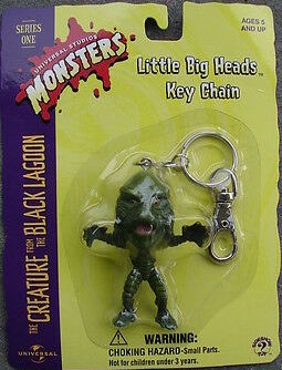 Image of Creature Little Big Head Keychain