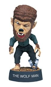 "Wolf Man 3.5"" Little Big Head"
