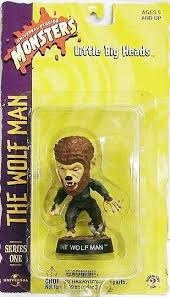 "Image of Wolf Man 3.5"" Little Big Head"