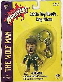 The Wolf Man Keychain