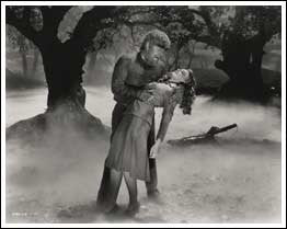 The Wolf Man w/Evelyn Ankers Photo