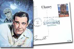 Lon Chaney Jr. Post Card