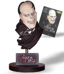 "Phantom of the Opera 7.5"" Resin Bust"
