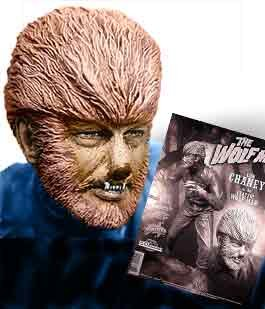 "Image of Wolf Man 9"" Vinyl Model Kit"