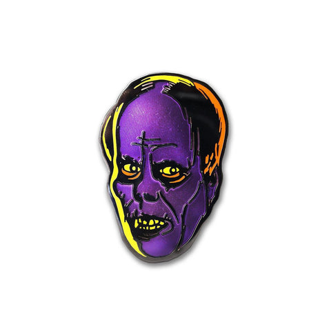 Purple Phantom Enamel Pin
