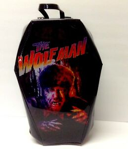 Wolf Man Coffin Backpack
