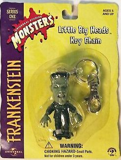 Frankenstein Little Big Head Keychain