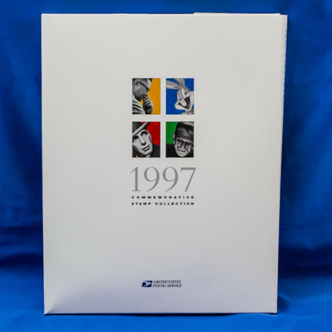 1997 USPS Commemorative Stamp Yearbook Set + Stamps