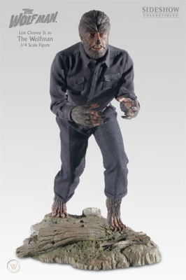 The Wolf Man Colored 1/4 scale
