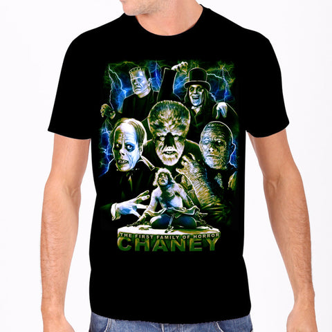Chaney - The First Family of Horror Tee