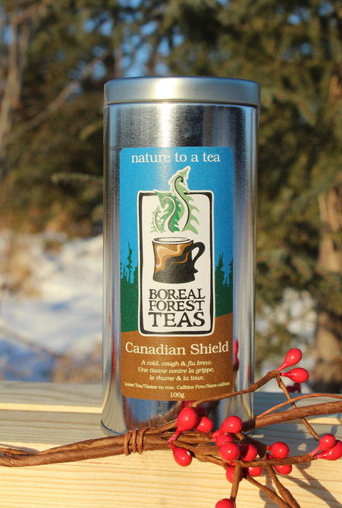 Canadian Shield Holiday Tin