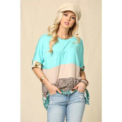 The Perfect Duo Top- Mint