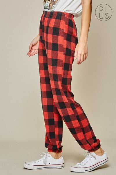 In Love with Plaid Pants