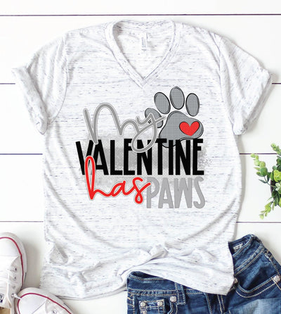 PREORDER My Valentine Has Paws